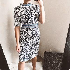 j. mclaughlin - kyrie dress leopard print